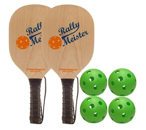 Wooden Paddle by Rally Meister