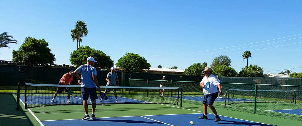 Exciting Pickleball Match