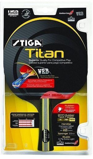 Stiga Titan Package Review