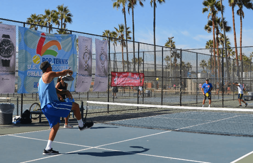 what is the double bounce rule in pickleball